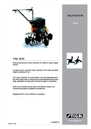 Stiga TILLER JB 55 Leaflet