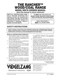 Vogelzang International SR57E ユーザーズマニュアル