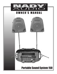 Nady Systems 150 User Manual