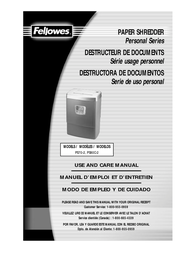 Fellowes Powershred® PS80C-2 36180-72 User Manual