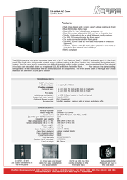 AplusCase CS-188A 12229 Leaflet