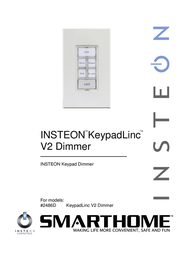 Smarthome NSTEON KEYPADLINK 2486D User Manual