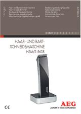 AEG HSM/R 5638 520643 ユーザーズマニュアル