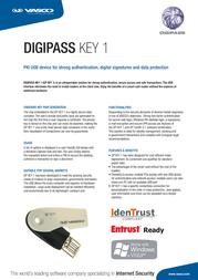 Vasco Digipass Key 1 5414602013002 Leaflet