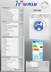 ITWASH E3710D Leaflet
