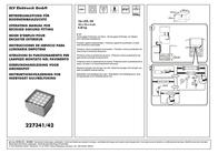 Slv LED outdoor flush mount light 3.36 W 227341 White 227341 User Manual