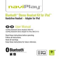 Ten Technology naviPlay Bluetooth Stereo Headset Kit for iPod User Manual
