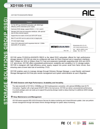AIC XD1100-1102 SSG-DRSA11-1102-A1 Leaflet