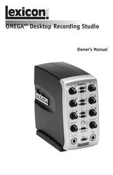 Lexicon Omega User Manual