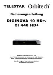 Telestar Diginova 10 HD+ 5310392 Data Sheet