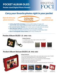 Digital Foci PAO-150 Leaflet