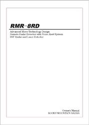 Rocky Mountain rmr-8rd User Guide