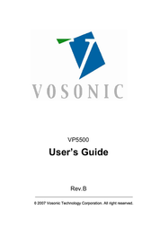 Vosonic Portable Photo Storage VP5500 User Manual
