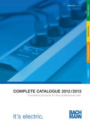 Bachmann 5x Schuko, 2m 333.402 User Manual