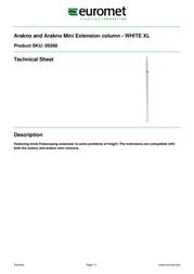 Euromet 09268 Leaflet