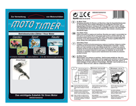 Motogroup Moto timer Operating hours timer LCD MT-006 Data Sheet