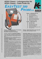 Kurth Electronic KE 301 0.49562 Leaflet
