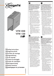 Havoned VFW 130 - LCD/TFT wall support VFW 130 User Manual
