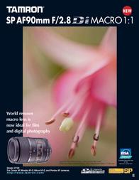 Tamron SP AF 90mm F/2.8 Di MACRO 1:1 272EE Leaflet