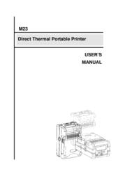 The Speaker Company tSc Printer M23 User Manual