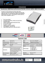 Vosstronics VTG-KC21CS Leaflet