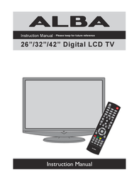 Alba L26M1 Instruction Manual