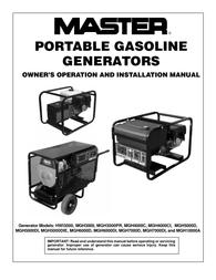 MASTER LOCK MGH3000PR User Manual