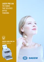 Sagem Laser Pro 344 288069294 Leaflet