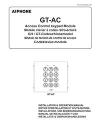 Aiphone GT-AC User Manual
