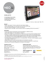 Falk Neo 620 LMU 1675090000 Leaflet