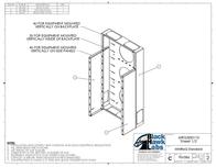Black Hawk Labs 6U + 4U MiniRaQ Convertible MRQ301V10 Leaflet