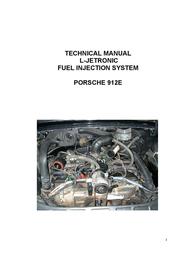 Porsche 912E User Manual