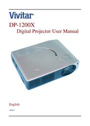 Vivitar DP-1200 X User Manual