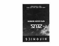 Hifonics ZS52CX User Guide