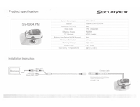 Crimestopper SecurView™ SV-6904.PRO Owner's Manual
