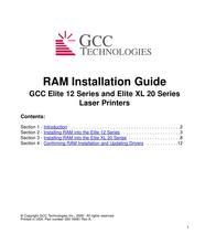 GCC 12 User Manual