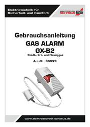 Schabus Gas detector 300226 mains-powered detects Propane, Methane, Butane 300226 User Manual