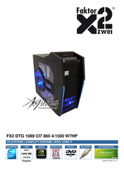 Faktor Zwei FX2 dTG 1089 811101 User Manual