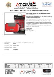 Atomic Accessories DSA.122tu DSA.122TU Leaflet