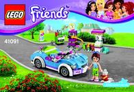 Lego Friends LEGO® FRIENDS 41091 MIAS SPORTFLITZER 41091 Data Sheet