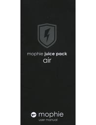 Mophie Juice Pack Air Owner's Manual