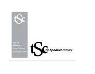 The Speaker Company Home Theater Speaker User Manual
