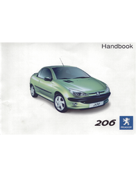 Peugeot 206CC User Manual