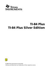Texas Instruments TI-84 Plus User Manual
