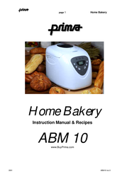 PRIMA ABM10 User Manual