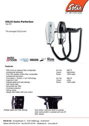 Solis 968.76 Leaflet