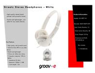 Groov-e GV-897-W GV897W Leaflet