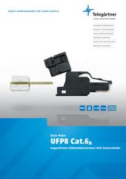 Telegaertner Telegärtner J00026A3000, Pin RJ45 Plug, straight J00026A3000 Information Guide