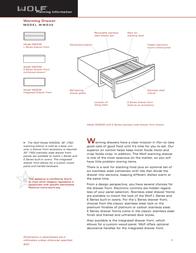 Wolf WWD30 User Manual