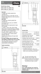 Eltako ER12-002-8..230V UC 22002601 Leaflet